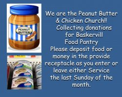 Baskervill Food Pantry Chicken and PB