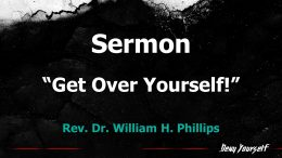 Get Over Yourself! – 11 am