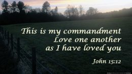 Love – A Christian Imperative